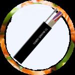 کابل فیبر نوری خشک مهاردار هوایی با زره  – OSSC-SJ SM